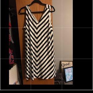 Loft Chevron dress